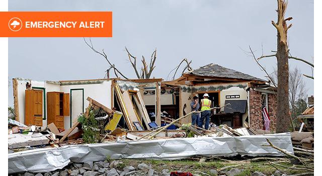 Midwest Tornado Response Header