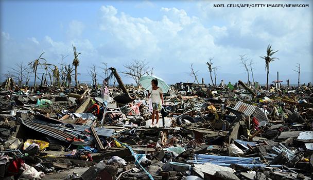 Philippine Typhoon Response Header