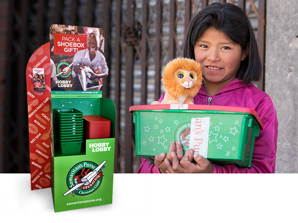 Pack Operation Christmas Child Shoebox Gifts for Children in Need!