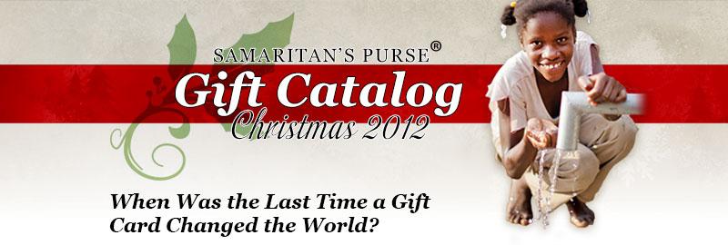 samaritans purse gift catalog