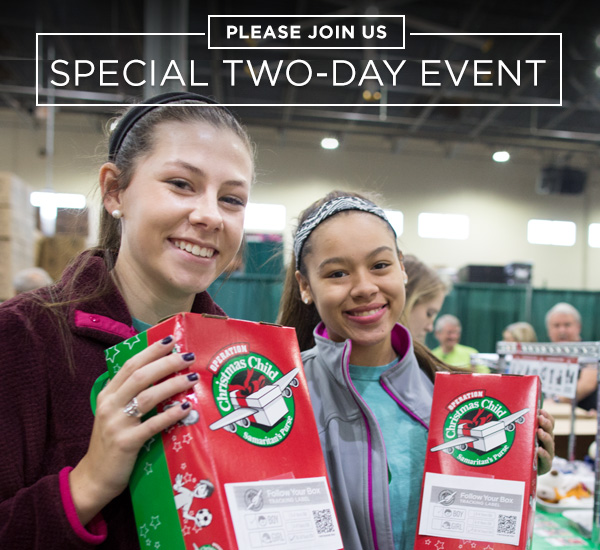 Don't Miss This Special Two-Day Event!