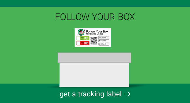 Get a follow your box label