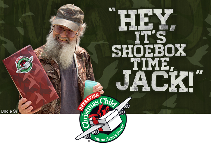 Hey, Pack a Shoebox, Jack!