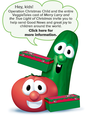 Kathys Cluttered Mind: VeggieTales Merry Larry and the True Light ...